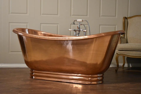 Copper Apron Bath