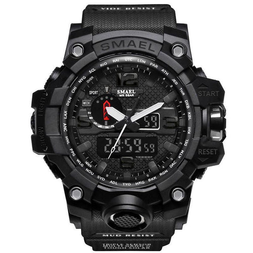 Men Military Waterproof Sports Wristwatch
