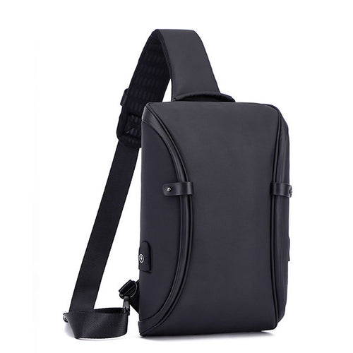 Large Capacity Oxford Casual Cross Body Bag For Men