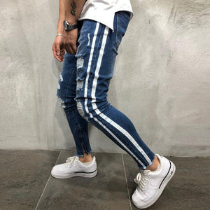 Small Feet Slim Trousers Zipper Jeans