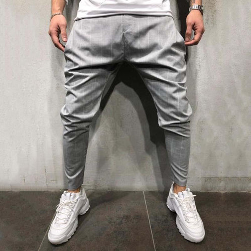 Men's Sports Casual Trousers Slim-Fit Pants