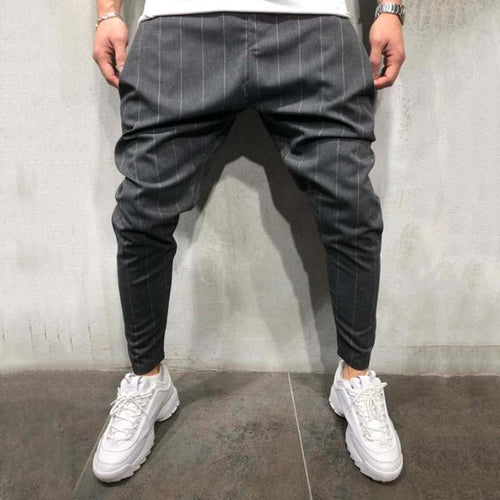 Men's Fashion Casual Loose Trousers Slim-Fit Pants