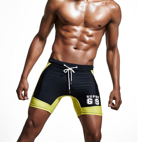 Men's Fashion Beach Shorts Training Sports Swim Trunks