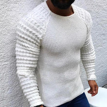Load image into Gallery viewer, Casual Simple Pure Colour Round Neck Sweater