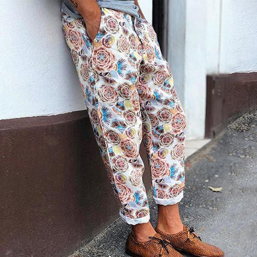 Men's Fashion Printed Casual Pants