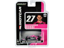 "Dallara IndyCar #27 Alexander Rossi \AutoNation"" Andretti Autosport \""NTT IndyCar Series\"" (2020) 1/64 Diecast Model Car by Greenlight"""