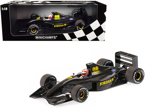 Jordan Ford 911 John Watson Formula One F1 Testing Silverstone 28th November, 1990 Limited Edition to 150 pieces Worldwide 1/18 Diecast Model Car by Minichamps