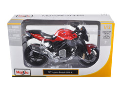 2012 MV Agusta Brutale 1090 R Red 1/12 Motorcycle by Maisto