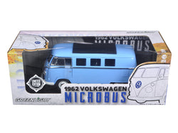 1962 Volkswagen Microbus Blue 1/18 Limited to 300pc by Greenlight