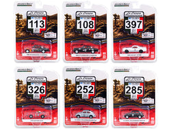 "\La Carrera Panamericana"" 70 Years Anniversary (1950-2020) Set of 6 pieces Series 3 1/64 Diecast Model Cars by Greenlight"""