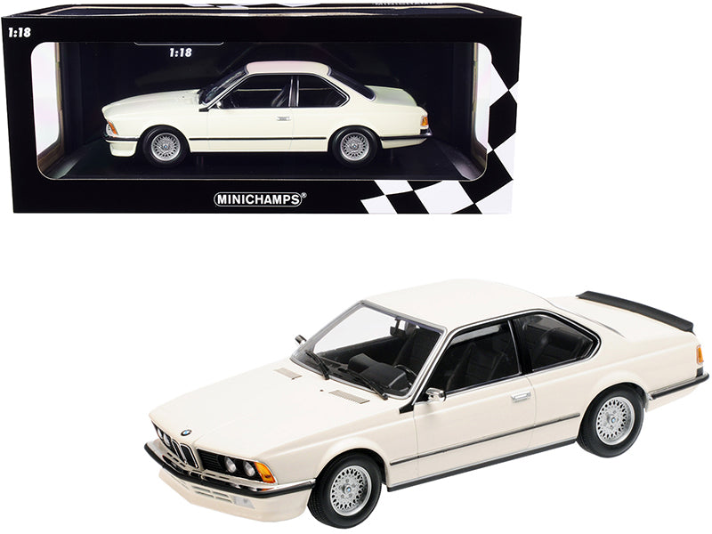 1982 BMW 635 CSi White Limited Edition to 504 pieces Worldwide 1/18 Diecast Model Car by Minichamps