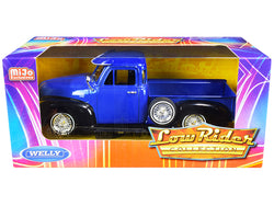 1953 Chevrolet 3100 Pickup Truck Blue and Black