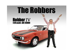 "\The Robbers"" Robber IV Figure For 1:18 Scale Models by American Diorama"""
