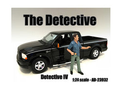 "\The Detective #4"" Figure For 1:24 Scale Models by American Diorama"""