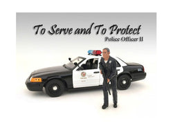 Police Officer II Figurine for 1/24 Scale Models by American Diorama