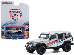 "2015 Jeep Wrangler Unlimited White \BFGoodrich 150th Anniversary"" \""Anniversary Collection\"" Series 11 1/64 Diecast Model Car by Greenlight"""