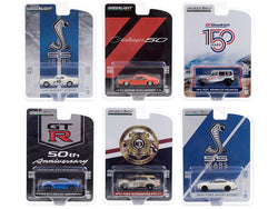 Set of 6 pieces Series 11 1/64 Diecast Model Cars by Greenlight