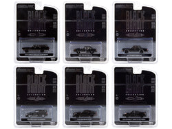 6 piece Set Series 24 1/64 Diecast Model Cars by Greenlight