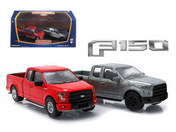 2015 Ford F-150 Pickup Trucks Hobby Only Exclusive 2 Cars Set