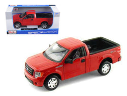 2010 Ford F-150 STX Pickup Truck Red 1/27 Diecast Model by Maisto
