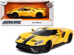 2017 Ford GT Yellow with Black Stripe