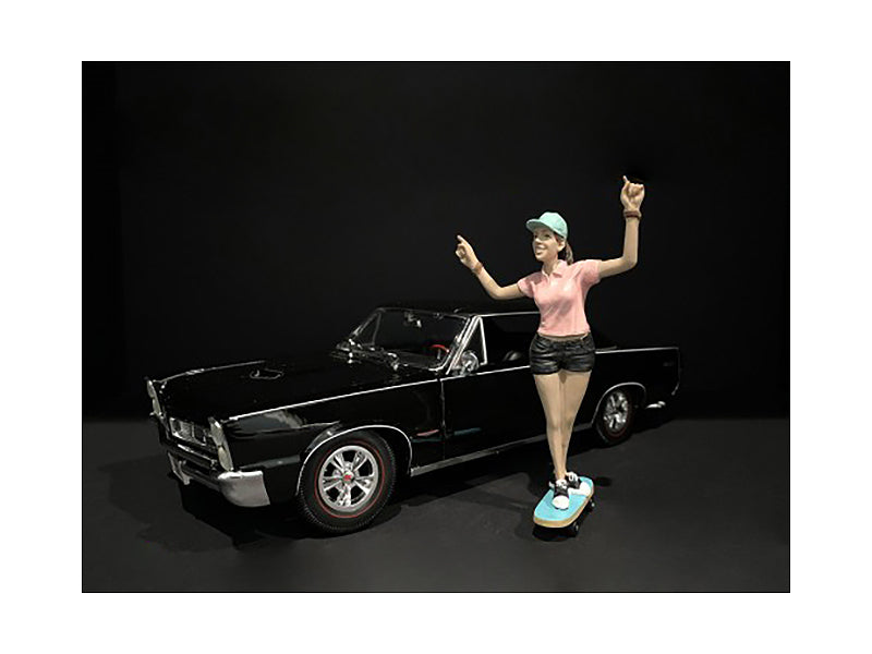 Skateboarder Figurine IV for 1/24 Scale Models by American Diorama