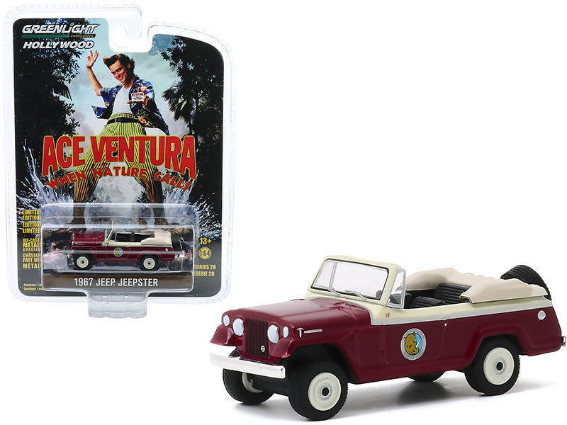 1967 Jeep Jeepster Convertible Ace Ventura: When Nature Calls