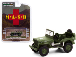 1942 Willys MB Jeep Army Green MASH (1972-1983) TV Series