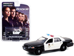 2008 Ford Crown Victoria Police Interceptor Black and White
