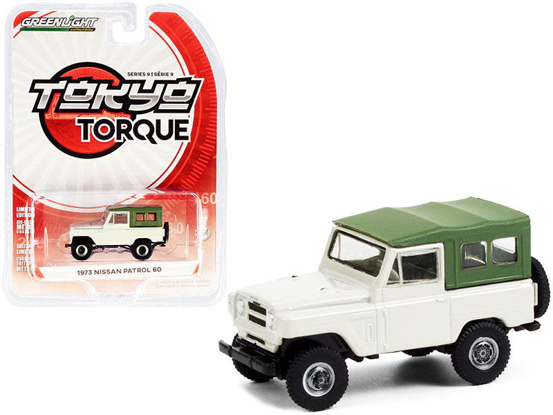 1973 Nissan Patrol 60 Tan with Green Top