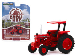 "1987 Ford 5610 Tractor Red \Kansas Department of Transportation"" (DOT) \""Down on the Farm\"" Series 4 1/64 Diecast Model by Greenlight"""