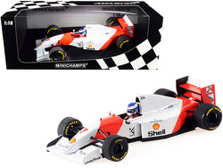 McLaren Ford MP4/8 7 Mika Hakkinen Formula One F1 Japanese Grand Prix (1993) Limited Edition to 302 pieces Worldwide 1/18 Diecast Model Car by Minichamps