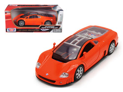 Volkswagen Nardo W12 Show Car Orange 1/18 Diecast Model Car by Motormax