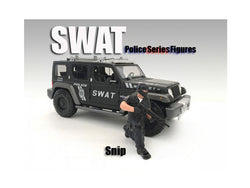 SWAT Team Snip Figure For 1:24 Scale Models by American Diorama