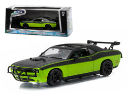 "Letty\'s 2014 Dodge Challenger SRT-8 \Fast and Furious-Fast 7"" Movie (2014) 1/43 Diecast Model Car by Greenlight"""