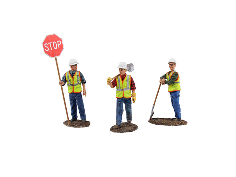 Diecast Metal Construction Figures 3pc Set #1 1/50 by First Gear