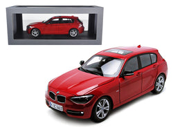 BMW F20 1 Series Red 1/18 Diecast Car Model by Paragon