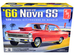 Skill 2 Model Kit 1966 Chevrolet Nova SS 2-in-1 Kit 1/25 Scale Model by AMT