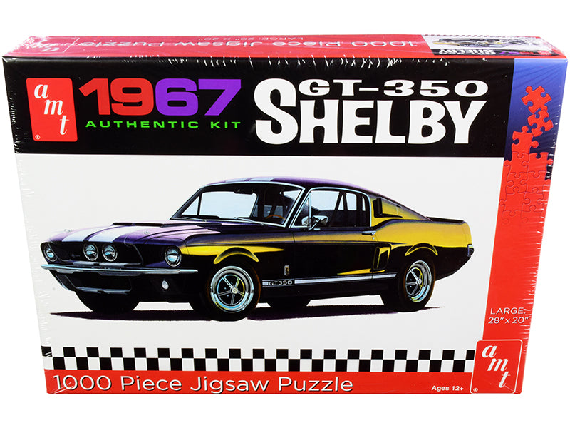 Jigsaw Puzzle 1967 Ford Mustang Shelby GT350 MODEL BOX PUZZLE (1000 piece) by AMT