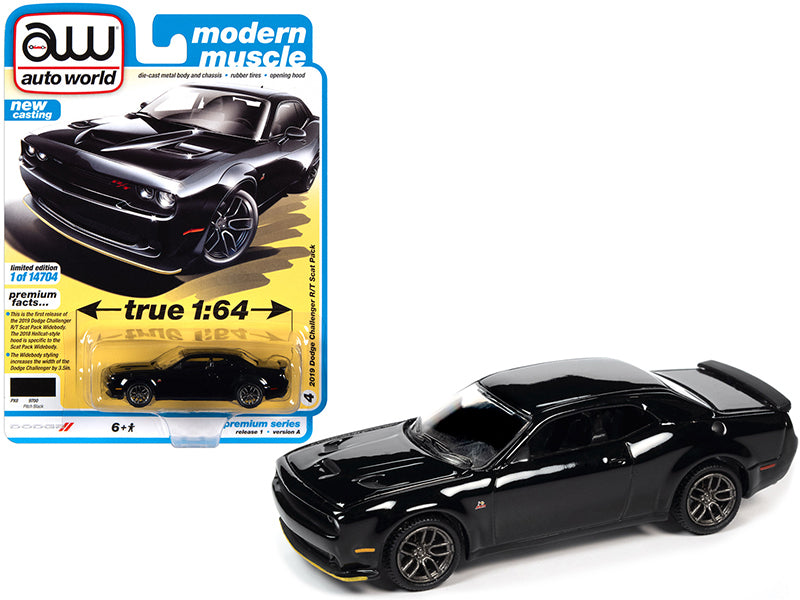 2019 Dodge Challenger R/T Scat Pack Pitch Black