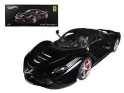 Ferrari Laferrari F70 Hybrid Elite Edition Black 1/18 Diecast Car Model by Hotwheels