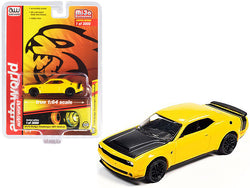 2019 Dodge Challenger SRT Hellcat Yellow with Black