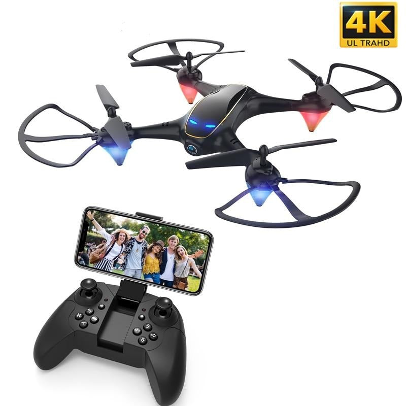 WiFi FPV RC Drone 4K Camera Optical Flow 1080P HD Dual Camera