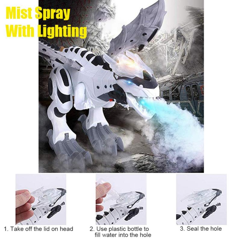 Walking Spray Dinosaur Robot