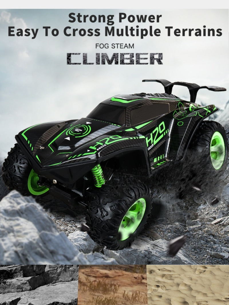 RC Car 2.4G High Speed Cool Lighting Remote Control