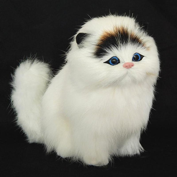 Electric Simulation Stuffed Plush Cats Toys