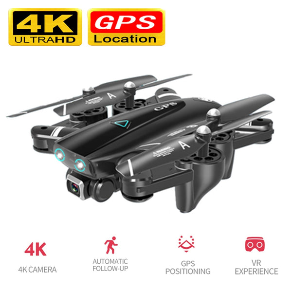 5G RC Quadcopter Drones HD 4K WIFI FPV Foldable Off-Point Flying Photos Video Drone