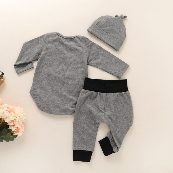 Newborn clothes Bodysuits Long Sleeve+Pant For 3M-24M