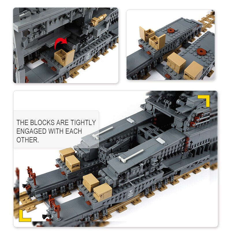 Building Blocks 10005 German 80cm Railway