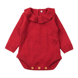 Casual Baby Girl Winter Sweater Clothes